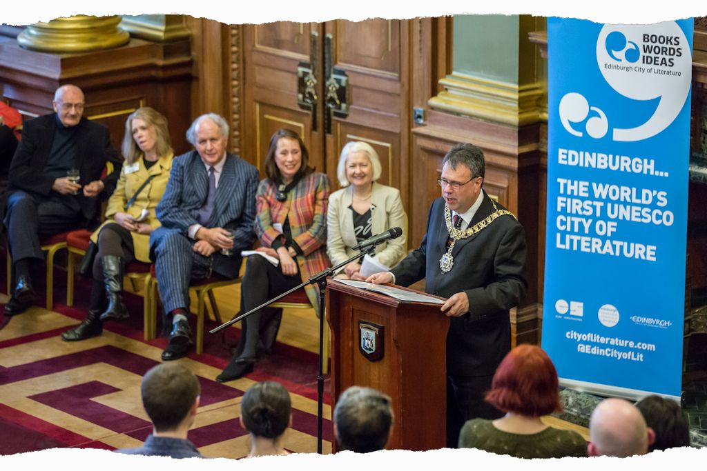 Edinburgh City of Literature 10 year Birthday Bash