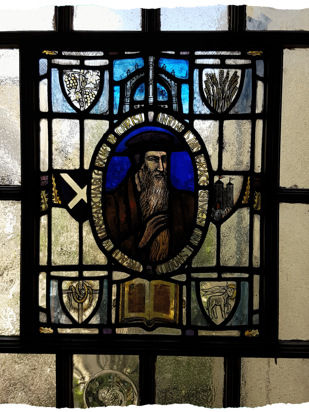 John Knox House - Stained Glass Window