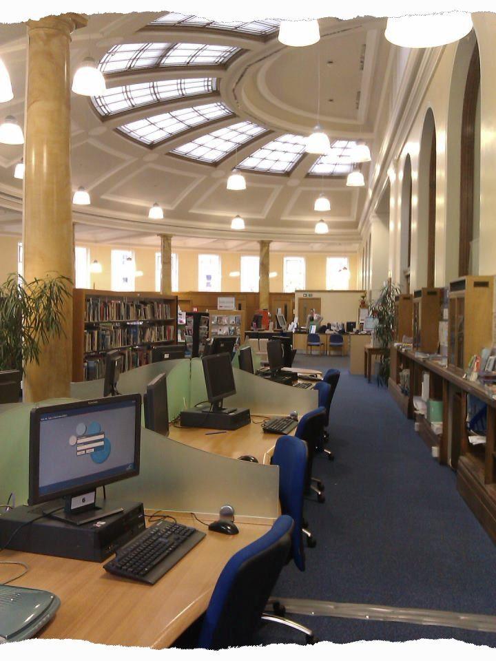 Leith Library Public PCs